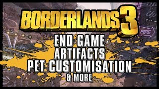 Borderlands 3 - NEW INFO | End Game, Proving Grounds, Artifacts, Pet/Bot Customisation & More