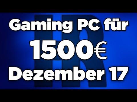 1500€ Gaming PC Dezember 2017 | Intel & AMD + GTX 1080 | Computer günstig kaufen
