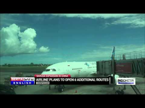 Garuda Indonesia to Open Denpasar-Beijing Route
