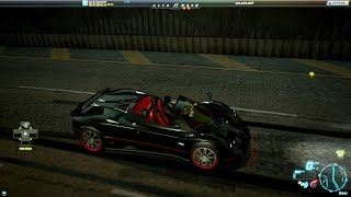 Need For Speed World Pagani Zonda F Roadster VIP Edition (11 November 2014)