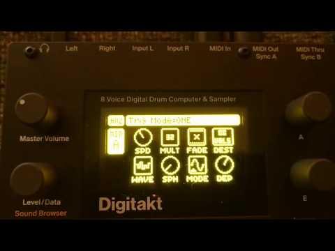 Digitakt mind blown! generative music extra 8 lfos
