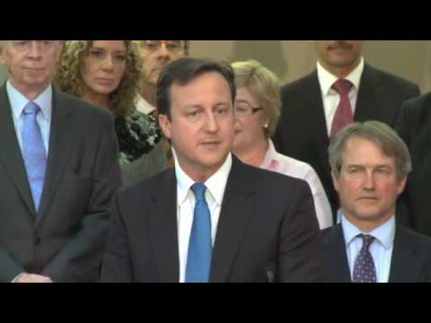 David Cameron's Keynote Speech in Northern Ireland