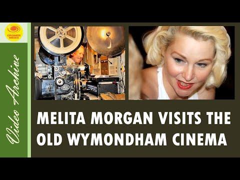 Hollywood Movie Star Melita Morgan Celebrity Guest at Wymondham Regal Cinema Norfolk UK