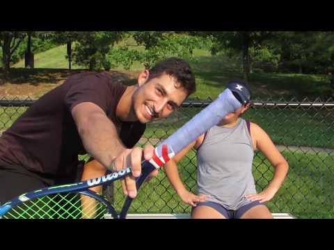 SPEED GRIP FT. COLLEGE TENNIS PLAYER