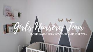 (15.3 MB) BABY GIRL NURSERY TOUR | SCANDINAVIAN DESIGN WITH A MOUNTAIN WALL Mp3