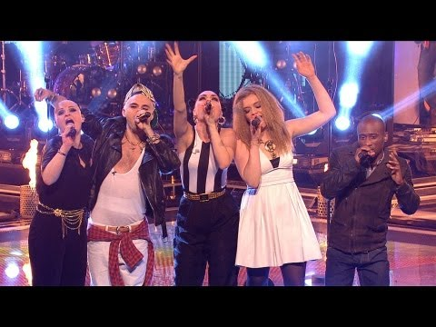 Jessie and her team: 'We Are Young' - The Voice UK - Live Show 4 - BBC One