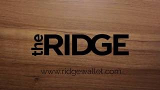 The Ridge Wallet - Getting Started