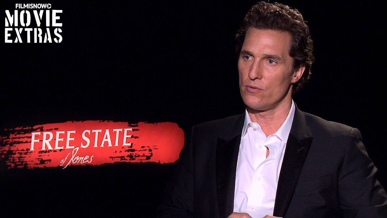 Matthew McConaughey talks about Free State of Jones (2016)