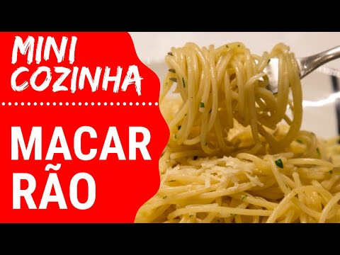 Como preparar Macarrão | Culinária Básica | #MINICOZINHA
