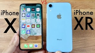 iPHONE XR Vs iPHONE X! (Should You Upgrade?) (Review)