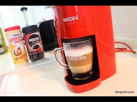 รีวิว: เครื่องชงกาแฟ NESCAFÉ Red cup
