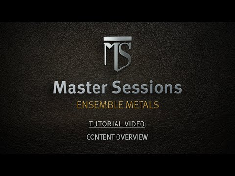 Heavyocity - Master Sessions: Ensemble Metals - Content Overview