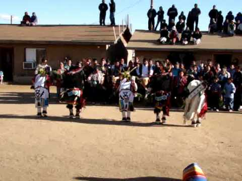 Hopi Buffalo Dance at Kykotsmovi 2009 part 3