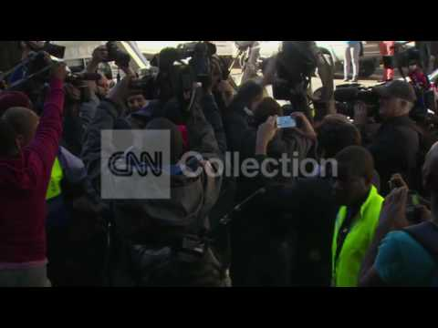 FILE-PISTORIUS TRIAL COURT ARRIVAL-AUGUST