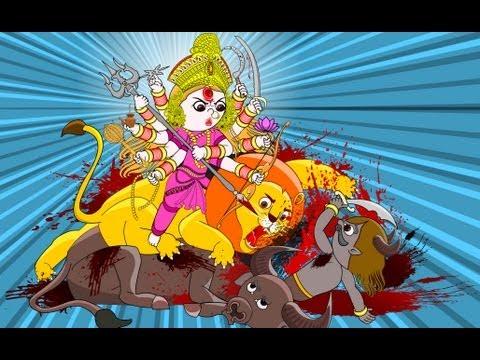 Mahishasura Mardini (animation) video