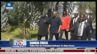 Gambia Crisis: Talks Fail As President Refuses To Step Down