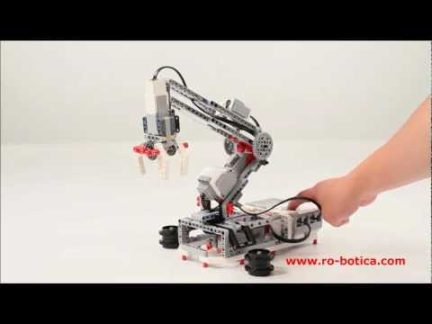 Brazo Robot LEGO ® MINDSTORMS ® Education EV3 En RO-BOTICA