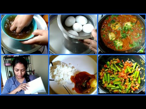 Sunday special lunch routine|mulakkada kodiguddu pulusu|All clarity about hair Mask|giveaway updates