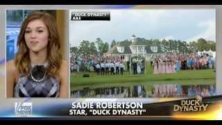 • Sadie Robertson • Live Original • Duck Dynasty • 8/24/15 •