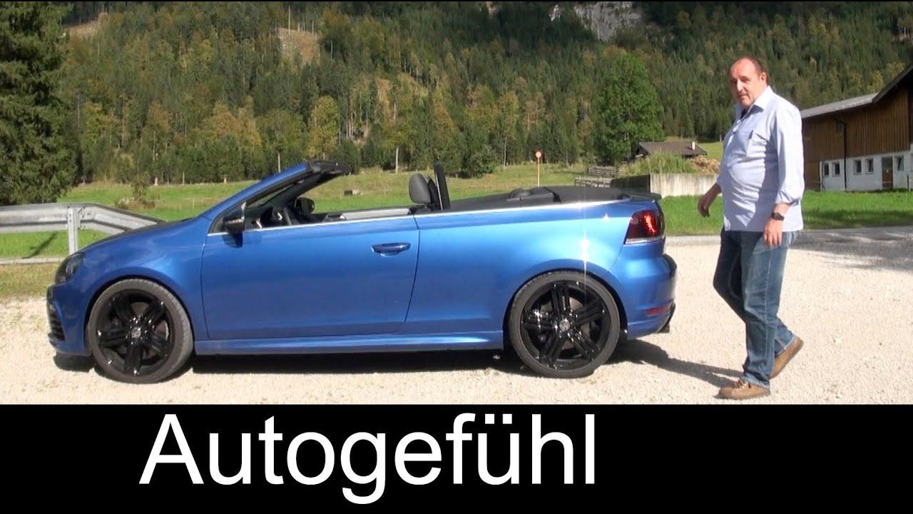2015 VW Golf R Cabriolet review test drive Volkswagen Golf ...