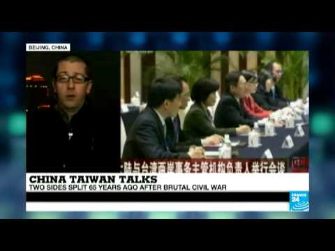 China-Taiwan talks: Beijing and Taipei in historic meeting