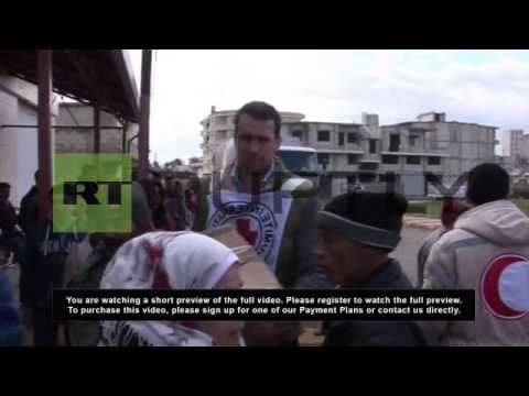 Syria: Red Cross arrives in Damascus to assess humanitarian situation