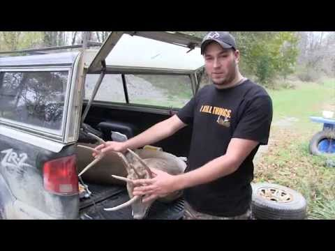 Michigan deer hunting from the ground