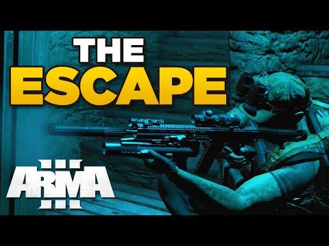 ZEUS - THE ESCAPE | ARMA 3 [ARES, JSRS3 Dragonfyre, Blastcore Phoenix]