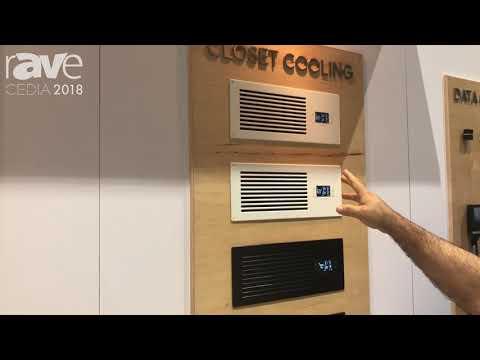 CEDIA 2018: AC Infinity Exhibits In-Door Closet Cooling Solution