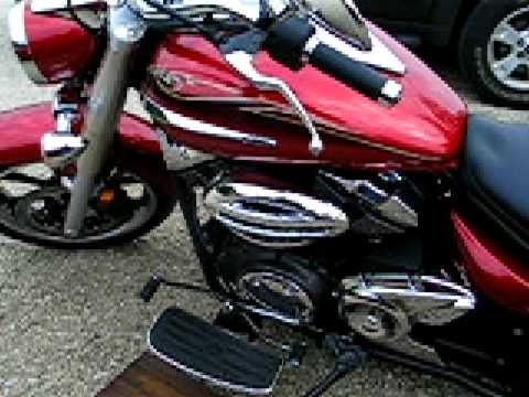 2009 Yamaha V Star 950, Candy Red Video