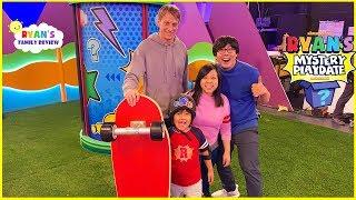 Tony Hawk is Ryan's Mystery Playdate!! NEW On Nickelodeon Every Friday!!!