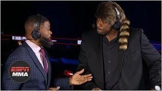 Walt Harris wants fight vs. anyone ahead of him in heavyweight division   UFC Fight Night   ESPN MMA