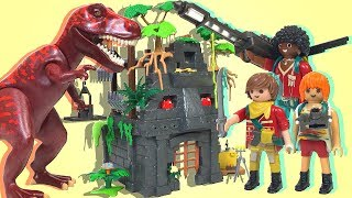 【Playmobil】The Explorers T-Rex's base camp 9429