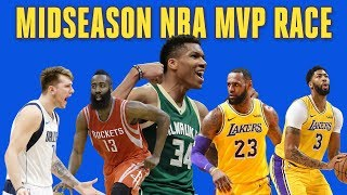 Midseason NBA MVP Award: Will Giannis Repeat? Harden, Lebron Top Candidates | CBS Sports HQ