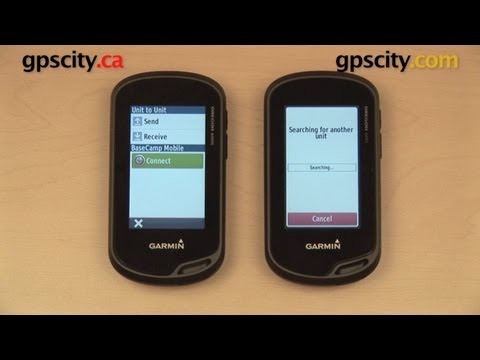 Wireless Transfer Comparison: Garmin Oregon 600 Series vs. Oregon 450 and Montana