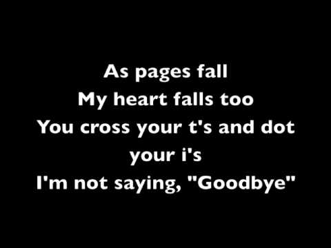 A Rocket To The Moon - Im Not Saying Goodbye