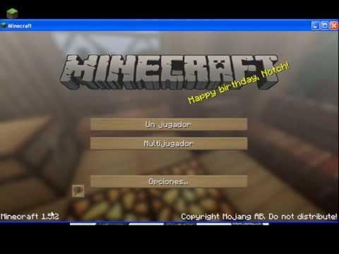 Tutorial - Cómo instalar Soartex Fanver Texture Pack para Minecraft 1 5 2