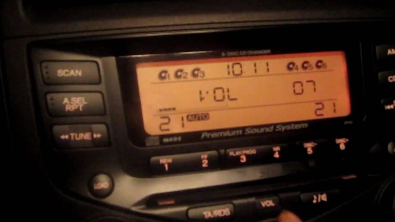 Honda accord executive premium sound system youtube for Honda finance phone number