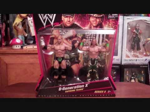 Triple H & Shawn Michaels D-Generation X Supreme Teams 2pack!