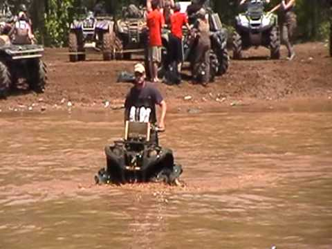 2009 highlifter mud nationals muddy creek texas jacksonville snorkel test in the sand pit