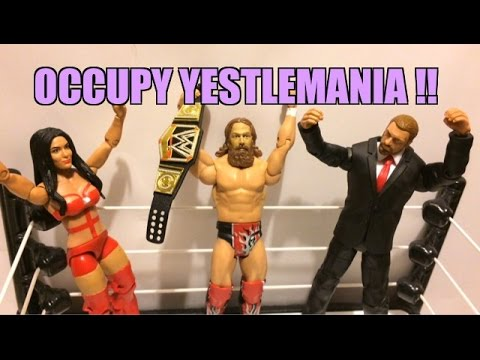 Wwe Action Insider: Daniel Bryan Vs Triple H Wrestlemania 30 Mattel Wrestling Figure Battlepack 32! video