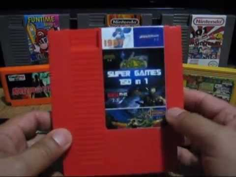 Super Games 150 in 1 NES Cartridge (2015 Edition)