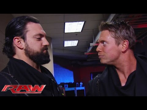 The Miz Fires Damien Mizdow: Raw, February 2, 2015 video