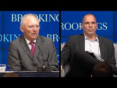 Differing Views on European Economy from Varoufakis and Schauble