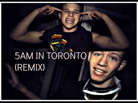 No Trace - 5AM In Toronto - Drake (Remix) (Official Music Video)