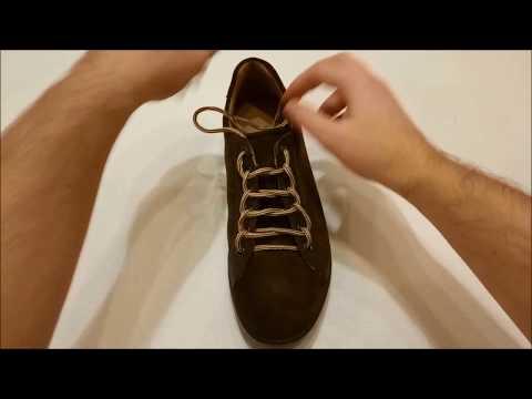 Original Ways of Lacing Shoes