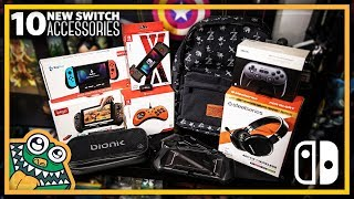 10 NEWEST Nintendo Switch Accessories - Part 7 - HAULED - List and Overview