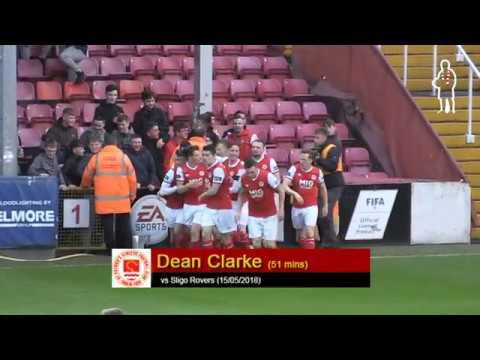 Goal: Dean Clarke (vs Sligo Rovers 15/05/2018)