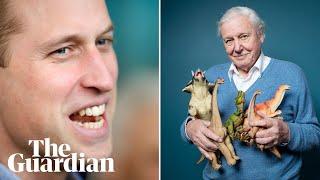 Prince William interviews David Attenborough –watch live