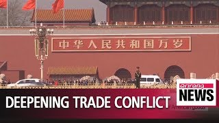 U.S., China sink into deepening trade conflict